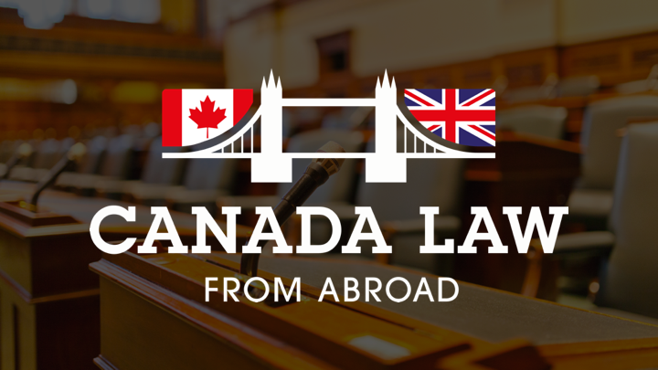 Canada Law From Abroad